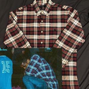 xxxtentacion style flannel